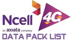 Ncell New 4G data pack
