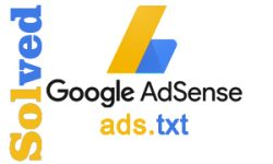 How to solve ads.txt doesn't contain in Adsense